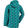 Regatta Printed Pack It Jas Kinderen Waterproof blauw